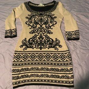 Ladies beige dress